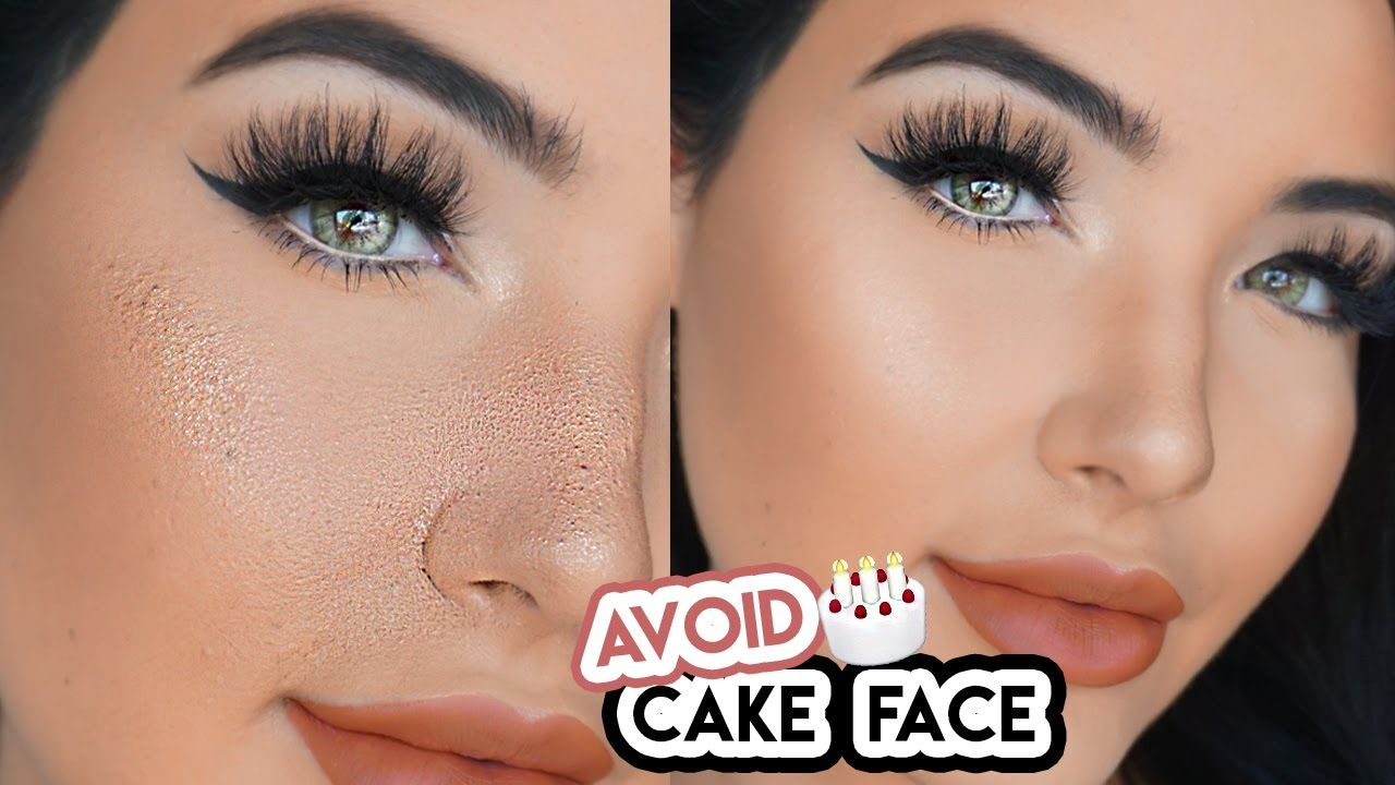 avoid cake face makeup