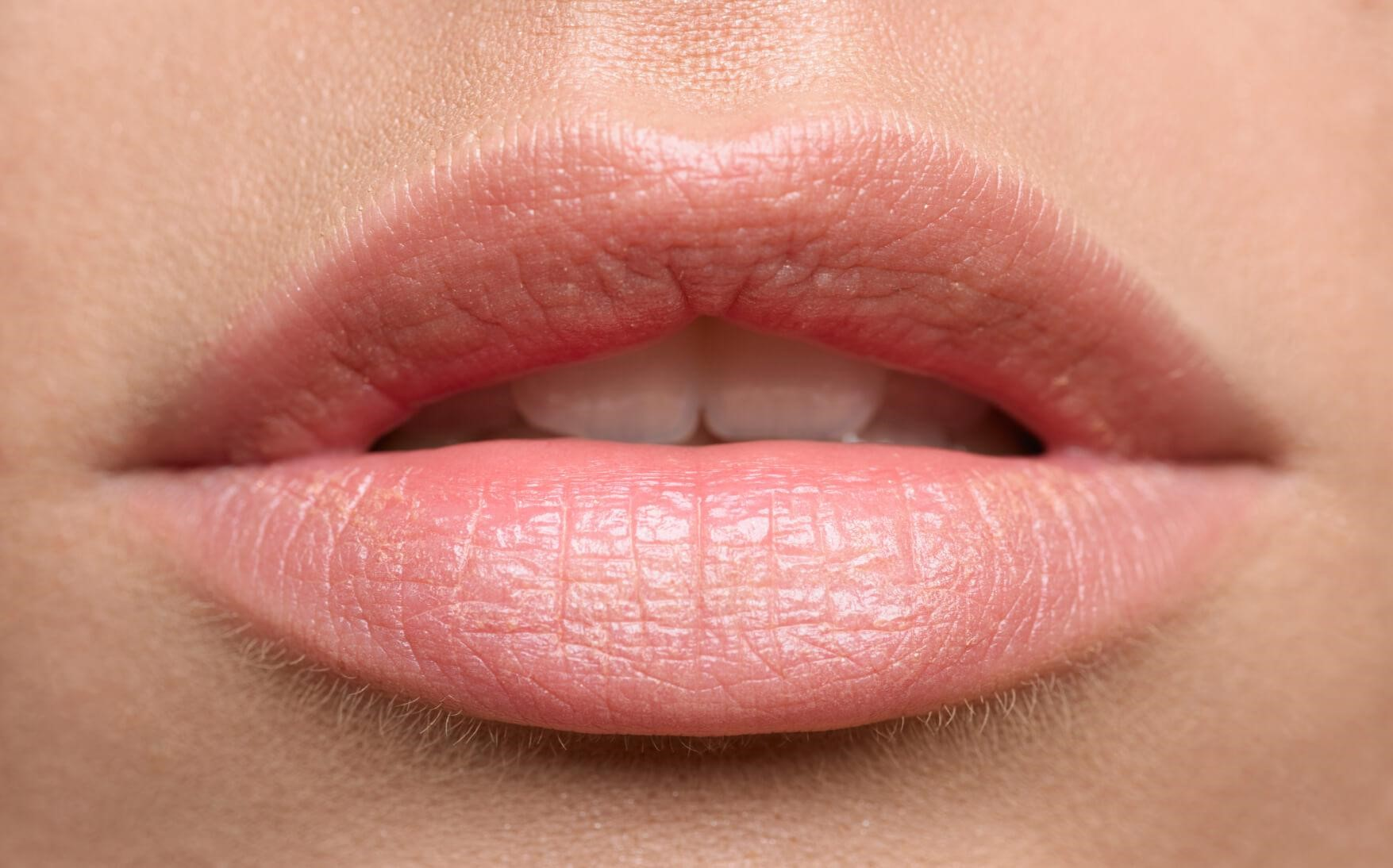 Natural Soft Pink Lips